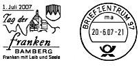 Weitere Stempel - http://www.briefmarkenverein-bamberg.de/