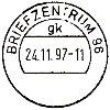 Stempel-Tagesstempel Briefzentrum 96 Bamberg - https://www